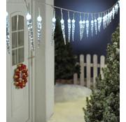 Generic LED-lichtstreng, 40 ijspegels, wit