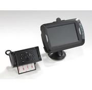 Westfalia Video achteruitrijcamera 4.3 met nachtzicht LED, draadloze beveiligde digitale transmissie