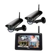 """Switel Digitaal draadloos bewakingssysteem met 7"""" monitor en 2 weerbestendige camera s"""