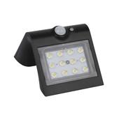 luceco luceco Solar wandlamp met bewegingsmelder 220 lumen 1,5W IP65 zwart