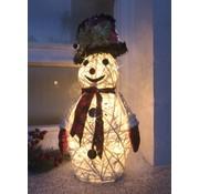 Wetelux LED sneeuwpop figuur