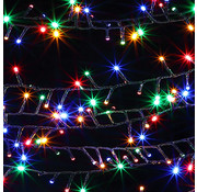 Deuba Deuba LED- kerstverlichting 14m met 700 LED's voor binnen- en buitengebruik Multi colour incl. afstandsbediening