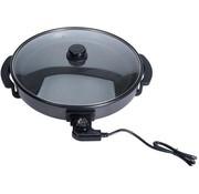 Koopman Elektrische hapjespan met glazen deksel - 40cm - Excellent Electrics - Koken & Tafelen - Pannen - Hapjespannen
