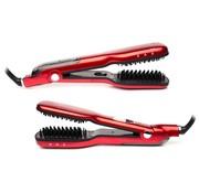 Cenocco Beauty Cenocco CC-9014- Stoom borstel - Stijlborstel - Fohnborstel -  voor alle haartypen - 5 standen - Max 230 °C - Rood