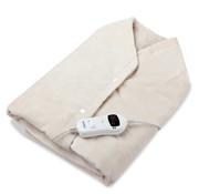 Monzana Monzana Verwarmingscape  fleece crème 145x100cm incl. timer