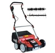 Grizzly Tools Grizzly 2-in-1 elektrische verticuteermachine en beluchter ERV1801-37 - 1800W  -37cm werkbreedte - incl. 45L opvangzak