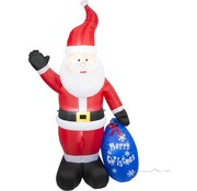 Christmas Gifts Christmas Gifts Opblaasbare Kerstman - met Verlichting - Binnen en Buiten - 210cm (h)