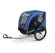 Bicyclegear Bicyclegear Hondentrailer fietskar universeel blauw/zwart - 25kg - 65x52x75 cm - inclusief fietskoppeling