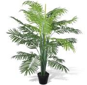 vidaXL vidaXL Kunst Phoenix palmboom met pot 130 cm