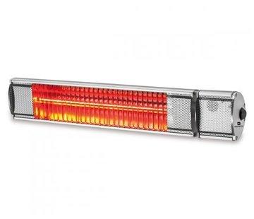 Kemper Kemper Heater - Infraroodlamp - Terrasverwarmer - voor binnen en buiten - 2000W - 24m² - IP55 - Met afstandsbediening