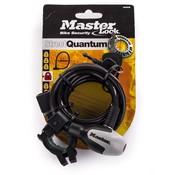 Masterlock Masterlock Fietsslot met sleutel - QUANTUM 8235 - 8mm - 180cm - zwart