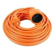 Vekto Vekto verlengsnoer 10 meter verlangkabel oranje 2500 watt
