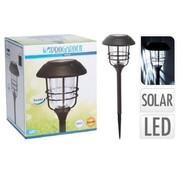 ProGarden Progarden Solar tuinlamp 170 x 58,5 cm -  alu met glas
