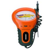 Monzana Monzana Watertester Primeur voor PH en chloor 18x12x5cm