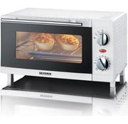 Severin Severin Vrijstaande Mini Oven - 800 Watt - Zilver