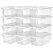 Loods 1 Loods 1 Transparante Opbergbox/ Schoenenbox - 12 dozen - Kunststof