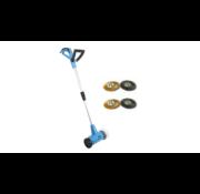 Güde Güde Elektrische Voegenborstel GRF401 - Onkruidborstel - met vier borstels - 400W