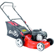 Grizzly Tools Grizzly Benzine Grasmaaier met 45L opvangbak - 700m²  - maaibreedte 42 cm - 1,82 kW -  BRM 42-125 / 2 BS
