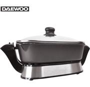 Daewoo Daewoo Elektrische wok grill - 1200W - anti kleefoppervlak