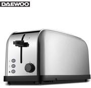 Daewoo Daewoo Broodrooster 2 laden / 4 sneetjes - 1500W - Zilver
