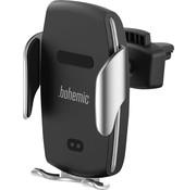 Bohemic Bohemic Universele Telefoonhouder / Autohouder met draadloos opladen - 3,5 tot 6,5 inch - BOH7252