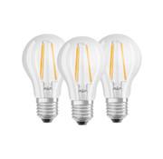 Osram Base filament LED lamp 4W E14 warm wit helder 3 stuks