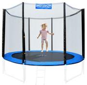 Monzana Veiligheidsnet voor trampoline Ø366cm -  voor 6 bevestegingspalen