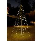 Pro Garden Pro Garden Vlaggenmast verlichting - 360 LED's - 8 meter - warm wit licht - waterdicht