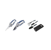 Hyundai Hyundai 2-Delige Aluminium Snoeischaren set inclusief 4-Delige Tuingereedschap set
