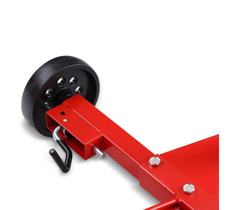 Monzana Velgboom Mobiel Rood Aluminium, Banden tot 225mm