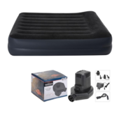 Intex Intex Luchtbed - 2 persoons - 203x152x42cm + INCL. Redcliff Elektrische Luchtpomp 12v/230v
