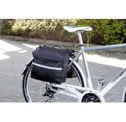 Maxi Maxi Dubbele achter fietstas -  14 liter -reflecterende strips - waterdicht - scheurvast -