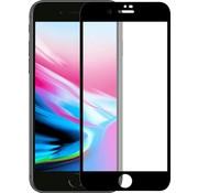 Meister Glass Meister Glass gepantserde glas voor iPhone 8 Plus/7 Plus/ 6s Plus/ 6 Plus Zwart| Case Friendly|Anti vingerafdruk|Screenprotector|gehard glas