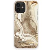 iDeal of Sweden iDeal of Sweden - Apple Iphone 12 Mini Fashion  Case/ Beschermhoes/ Hoesje - Golden Smoke Marble