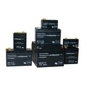 Multipower Oplaadbare loodaccu 4,8mm, 12V / 7,2 Ah, 151x65x94mm