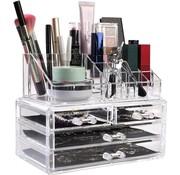 Deluxa Deluxa Make-Up Organizer - Transparant