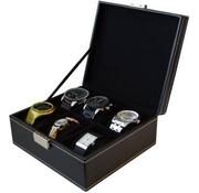 Deluxa Deluxa Horlogebox voor 6 horloges