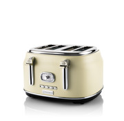 Westinghouse Westinghouse Retro Broodrooster - 4 Slice Toaster - Wit