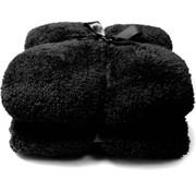 Unique Living Unique Living Plaid - Fleece - 150x200 cm - Zwart