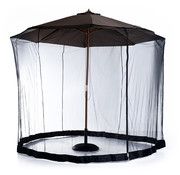 Outsunny Outsunny Insectennet klamboe voor parasol 3m zwart