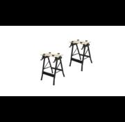 T4All T4ALL Werkbank / Workmate ERRO6010 - Set van 2 - 100kg - 605x635x800 mm