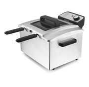 Bestron 3-in-1 friteuse, roestvrijstaal