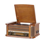 Reflexion Retro hifi-installatie met radio, platen, CD, cassettespeler en codering