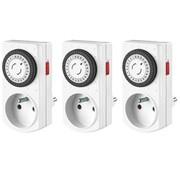Perel Set Met 3 Mini 24 U-Timers - Penaarde (E305Dm)