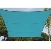 Perel Garden Zonnezeil - Vierkant - 3.6 X 3.6 M - Kleur: Hemelsblauw