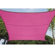 Perel Garden Zonnezeil - Vierkant - 5 X 5 M - Kleur: Fuchsia