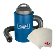Scheppach Scheppach Stofafzuiging HA1000 - 1100W   230V   50L   Incl. 9 stofzakken