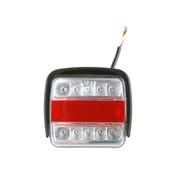 Generic Generic LED-achterlicht met 4 functies en bescherming tegen stoten
