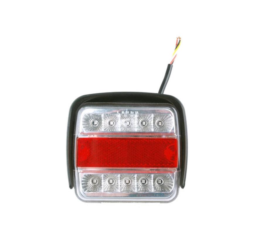 Generic LED-achterlicht met 4 functies en bescherming tegen stoten