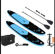 Pacific DUOSET! Pacific 6-delige Sup board set - 285cm - Premium Versie - Opblaasbare Paddle Board - Stevige kwaliteit - Max. 100kg